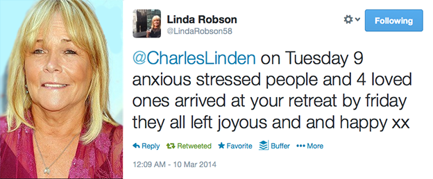 linda robson charles linden executive exclusive anxiety disorder treatment guru specialist
